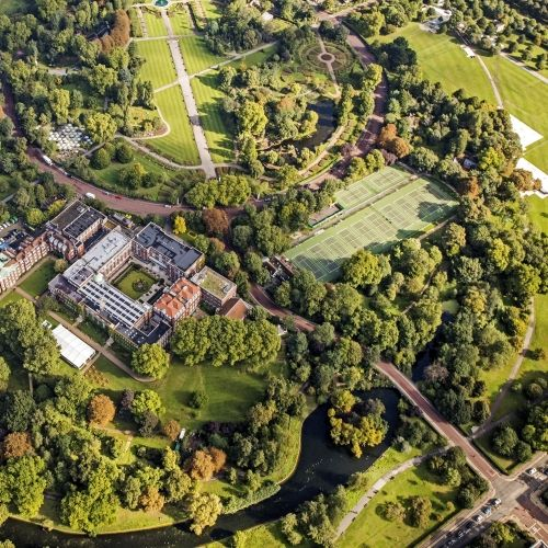 Regent's University London from above