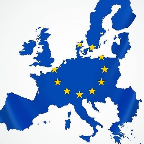 EU Map of Europe