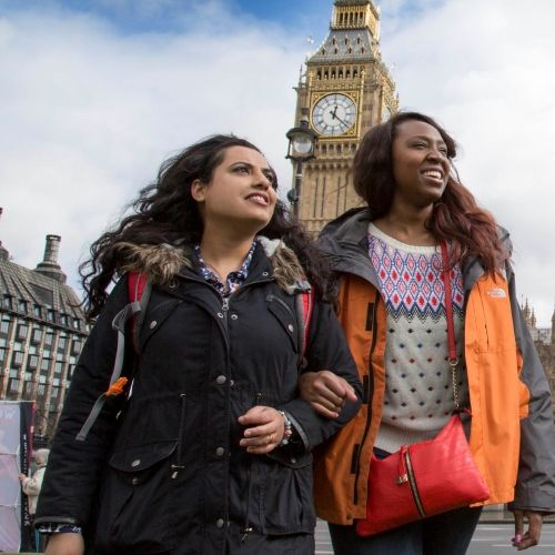Students in Parliament Square